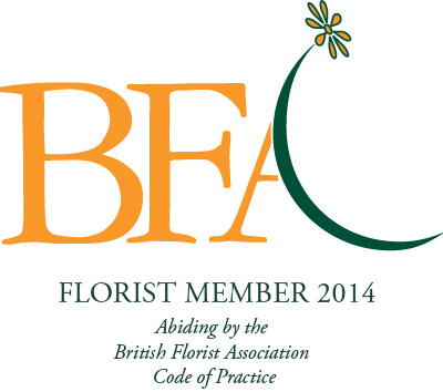 Florist Member since 2014 - The Britsh Florist Association